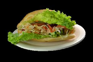 42. Pan con Pollo Salvadoreño