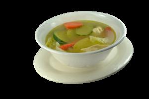 70. Sopa de Pollo con Pollo Asado, Arroz y Ensalada